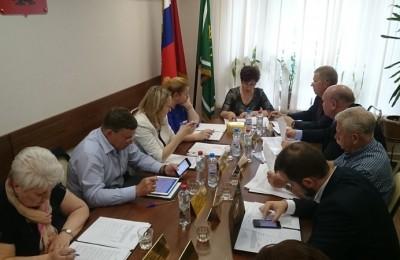 Заседание совета депутатов района Чертаново Центральное
