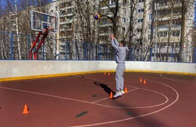 Баскетбольная тренировка в районе