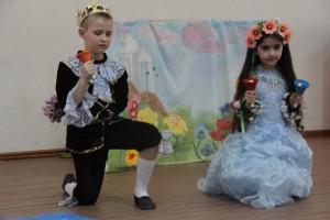 """Ребятам из первого класса школы №1173 показали спектакль """"Дюймовочка"""""""