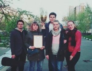 Активисты района заняли третье место на окружных соревнованиях