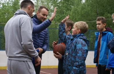 """Баскетбольный турнир """"Первый шаг"""" состоялся в районе"""