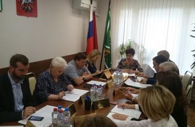 Заседание Совета депутатов в районе