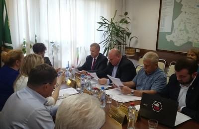 Заседание совета депутатов района