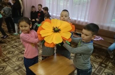 Детский праздник в районе