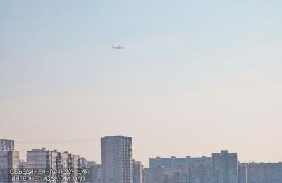 Жилые дома на юге Москвы