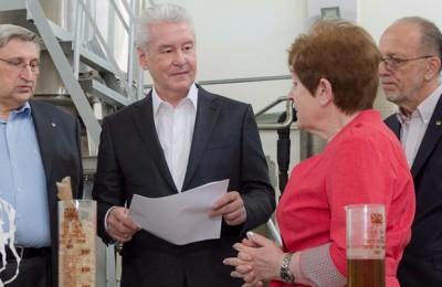 Собянин посетил крупнейшее столичное производство бытовых систем отопления