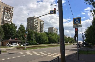 Светофоры района Чертаново Центральное приведут в порядок