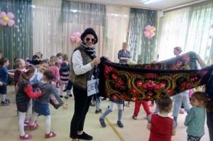 Праздник в музыкальном зале дошкольного отделения № 4