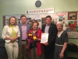 Свой юбилей отпраздновала Татьяна Викторова