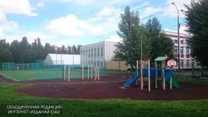 Школу благоустроят