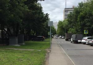 Дорожный знак на Кировоградской улице поправили в соответствии с нормами