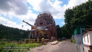 Строительство храма в честь святителя Киприана идет полным ходом