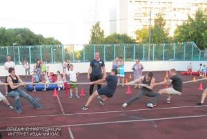 Игры для детей организует молодежная палата района