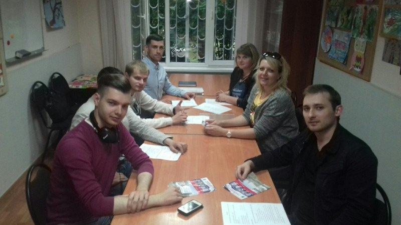 Собрание членов молодежной палаты состоялось в районе