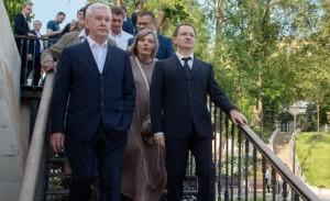 Мэр Москвы Сергей Собянин осмотрел сквер в центре Москвы