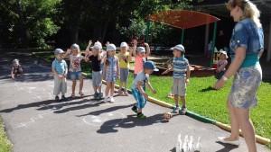 Мастер-классы и спортивные игры организовали для детей