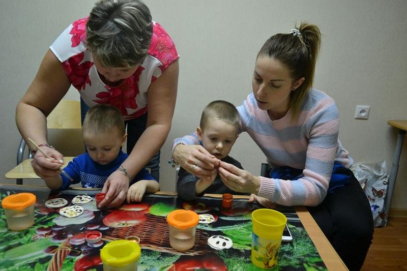 Отрыт набор на занятия для малышей и их родителей