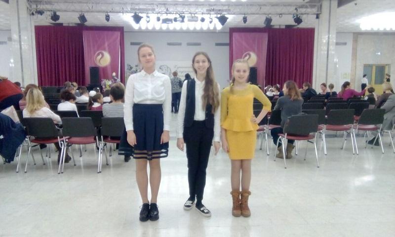 Учащиеся школы №880 приняли участие в Пушкинском фестивале