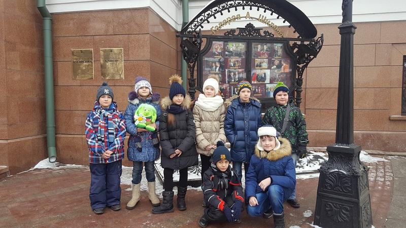 Ученики школы №880 посетили галерею Шилова
