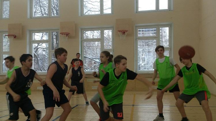 Баскетболисты школы №880