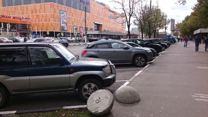 Парковка в районе