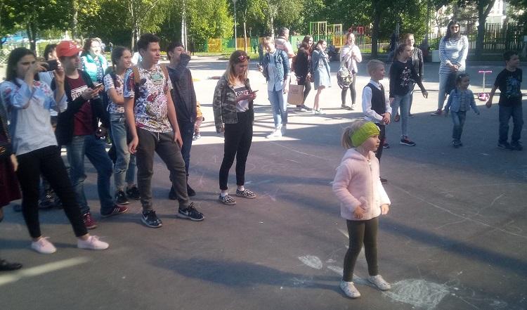 В Парке 30-летия Победы