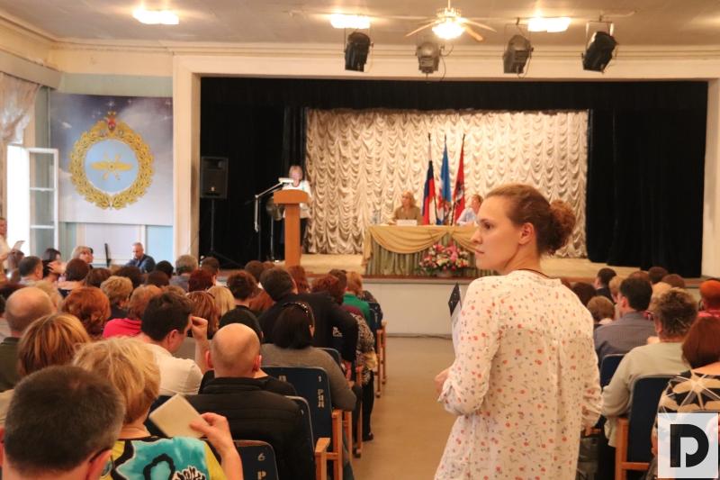 На встрече с заместителем Префекта ЮАО Людмилой Концевой