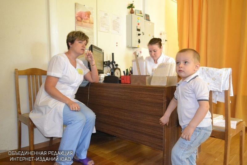 В детской поликлинике Южного округа