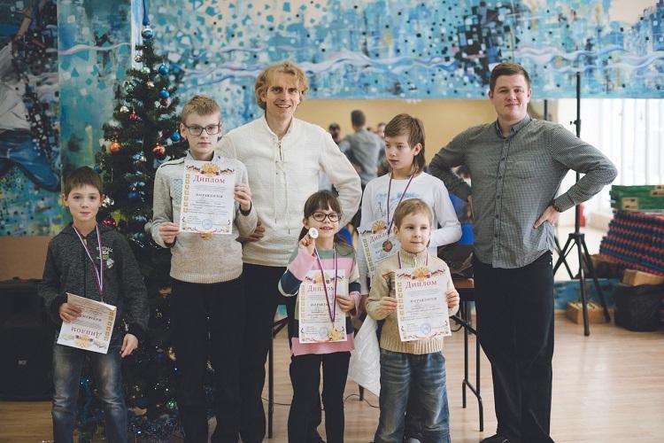 Победители шашечного турнира