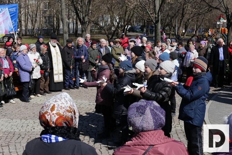 Митинг-узники в парке 30-летия Победы 2019
