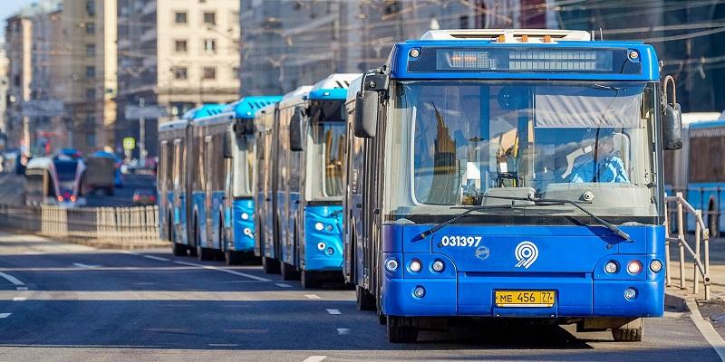 автобусы, изменение маршрута, «Мосгортранс»,