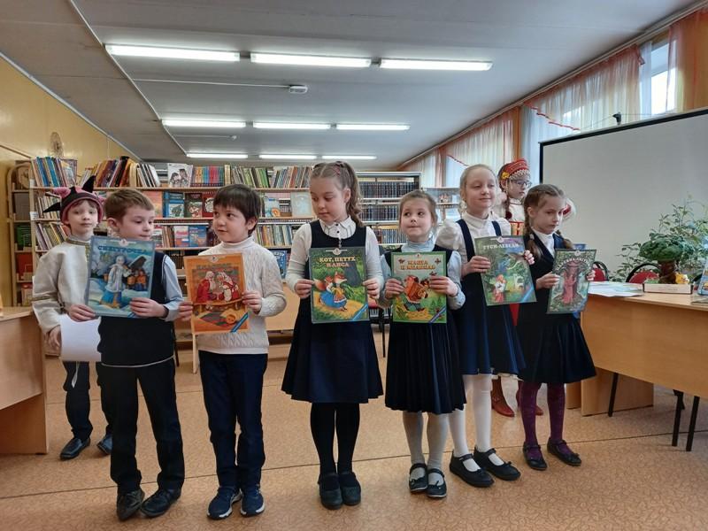 Неделю детской книги провели в школе №1582. Фото: сайт школы