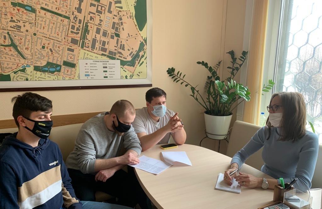 Местные активисты провели заседание. Фото: официальная страница объединения в социальных сетях